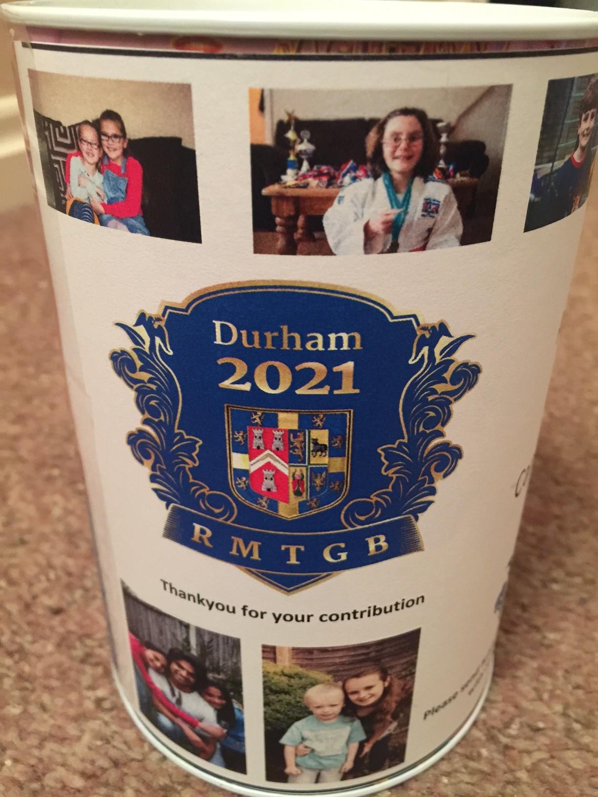 Durham 2021 money tins