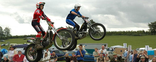 Gala Events - Classic Cars and Motorbike Display